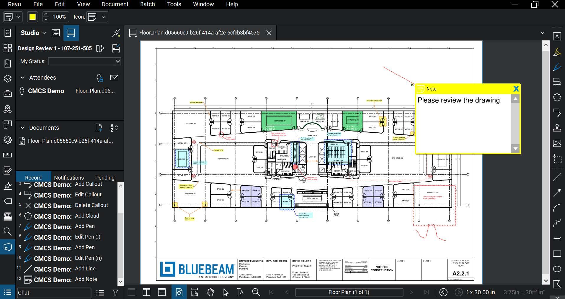 PMWeb 7 PMWeb Viewer  Bluebeam