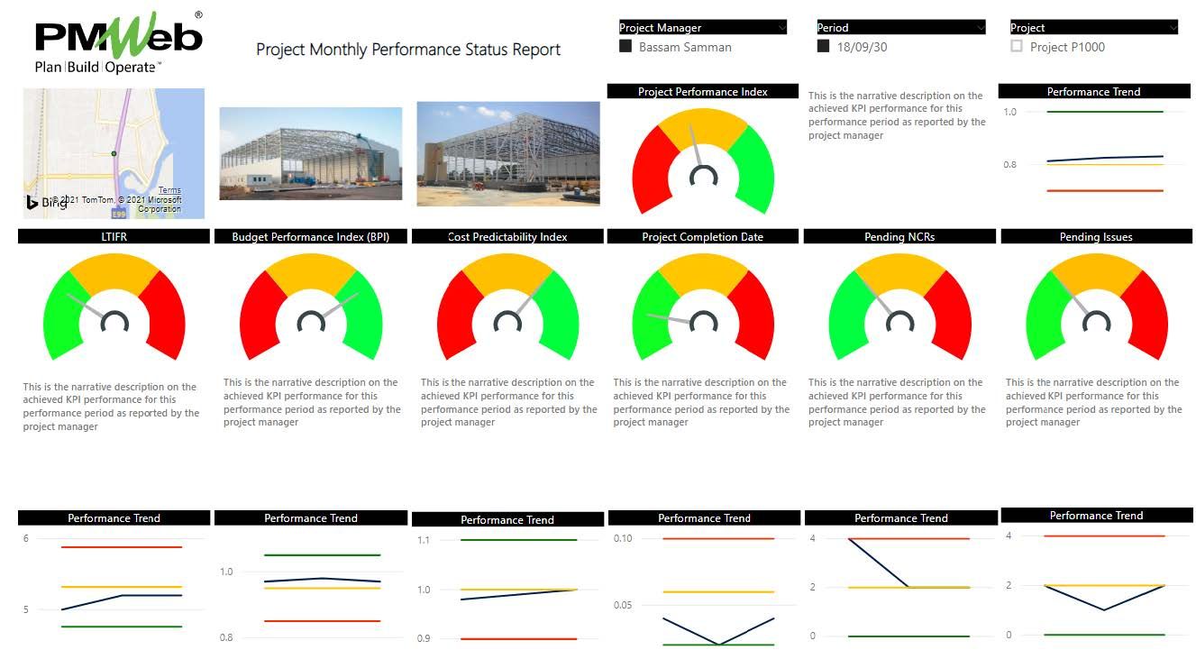 Digital Performance Reporting for Capital Construction Projects