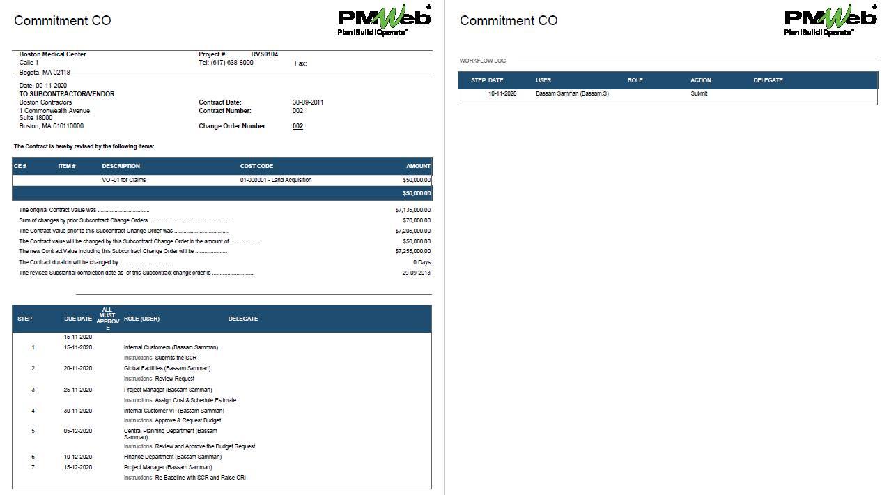 PMWeb 7 Commitment CO